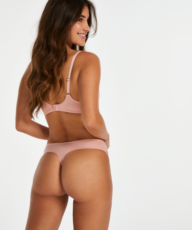 Soft padded non-underwired bra, Pink, main