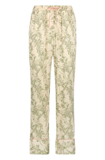 Hunkemöller Woven Pyjama Bottoms Beige 167953 2xl , Beige
