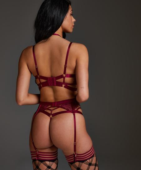 Jacky Suspenders, Red