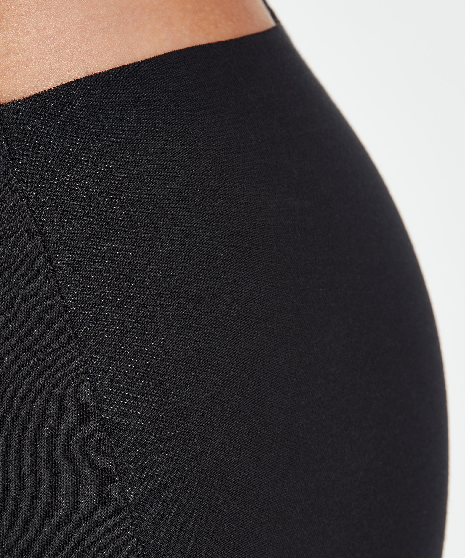 Invisible cotton boxers, Black, main
