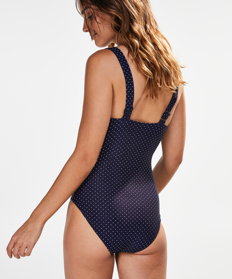 Ocean Bloom Swimsuit, Blue