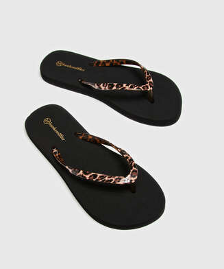 Fancy flip-flops, Black