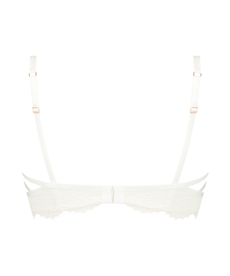 Eve Non-Padded Longline Underwired Bra, White