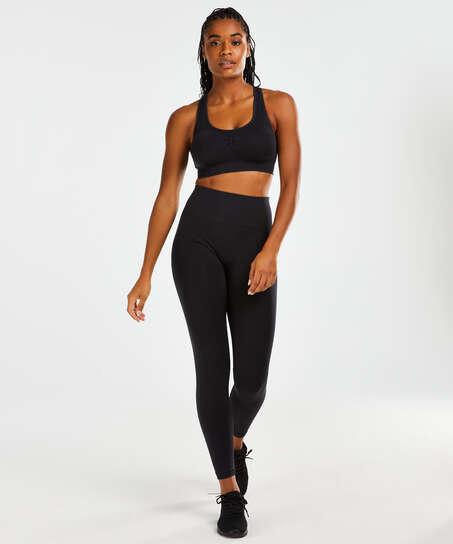 HKMX Sport bra Flex Level 1, Black