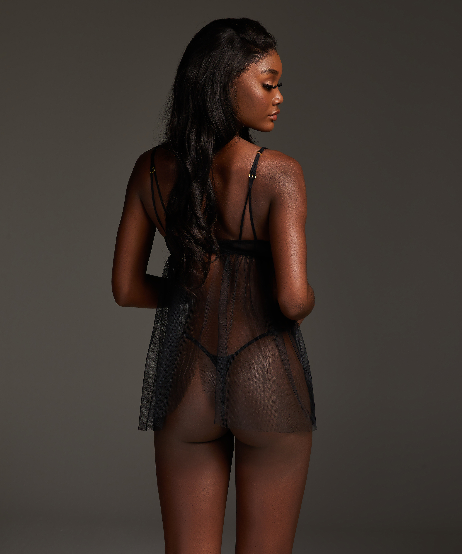 Emily Babydoll, Black, main