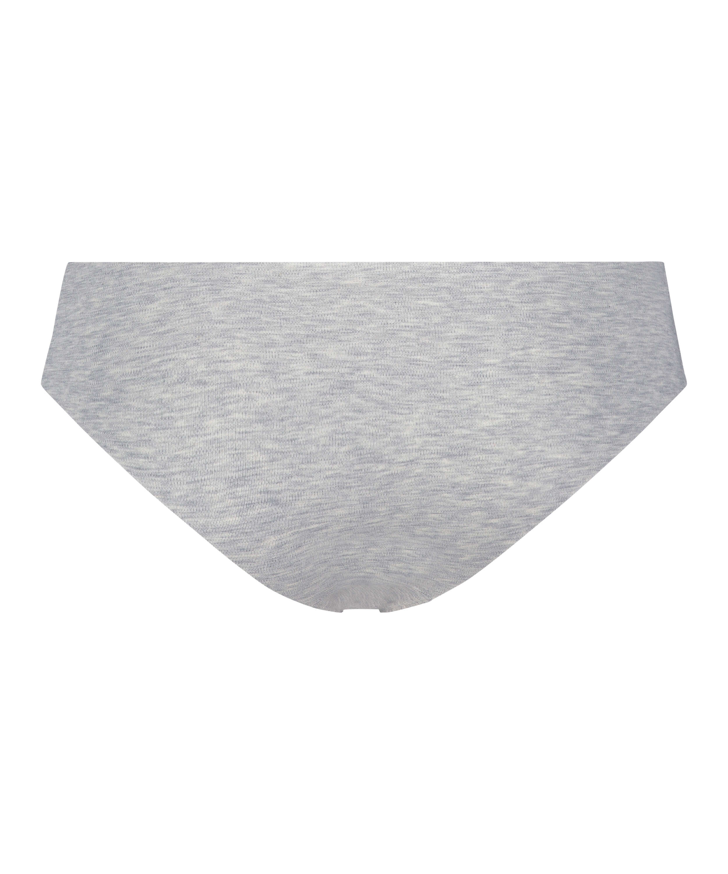 Invisible cotton knickers, Grey, main