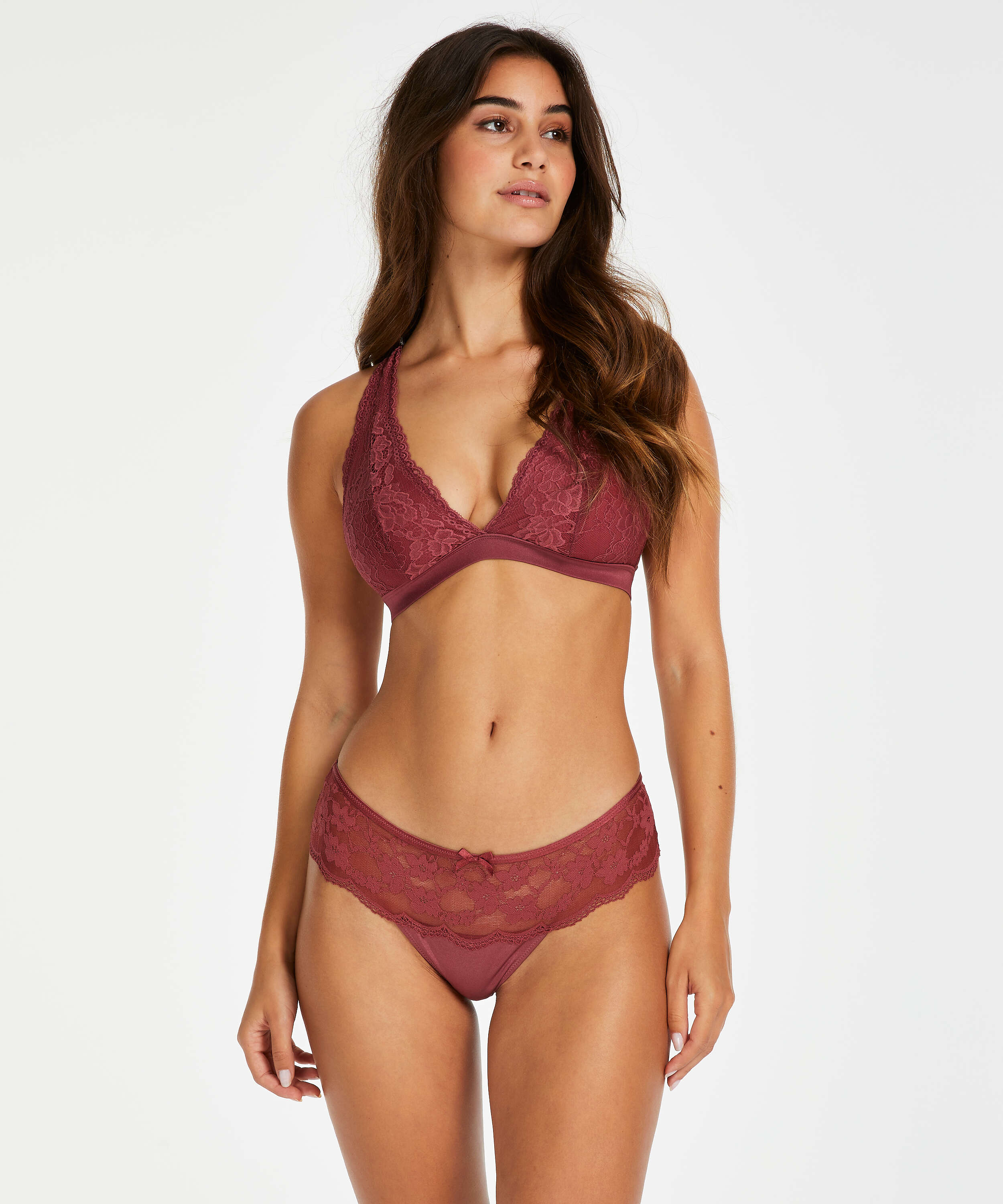 Bralette Alexis, Red, main