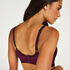 Erica prosthetic underwireless bra, Purple