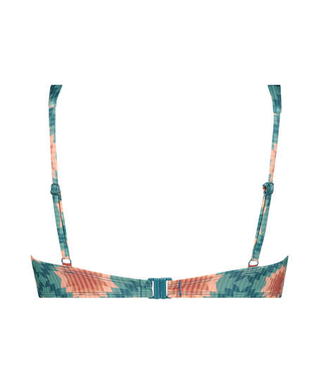 Paramaribo padded underwired bikini top I AM Danielle, White