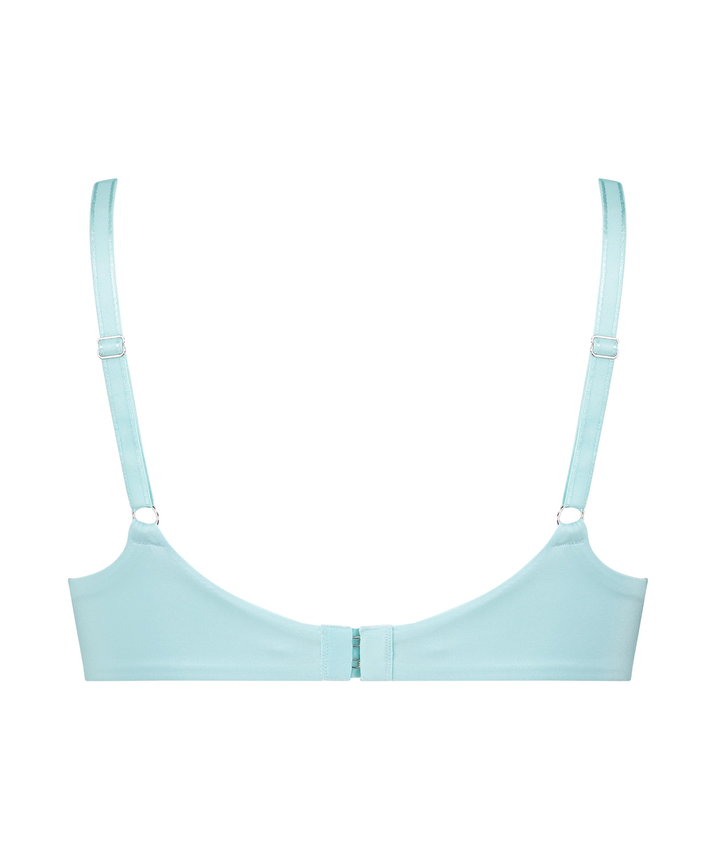 Mona padded non-underwired bra, Blue, main