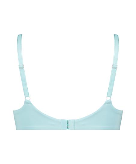 Mona padded non-underwired bra, Blue