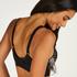 Morgan prosthetic underwireless bra, Black