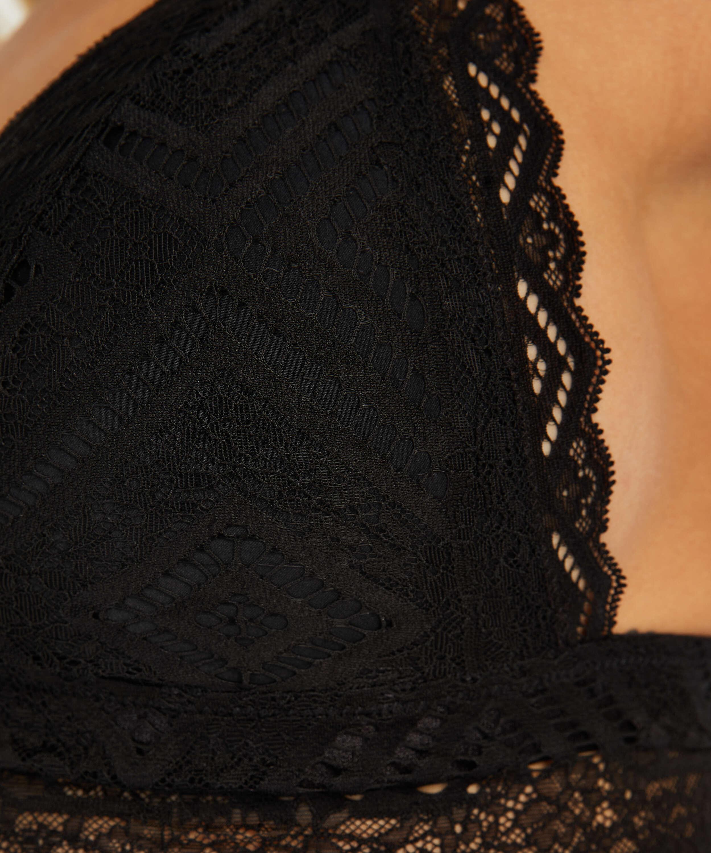 Filomena Bralette I AM Danielle, Black, main