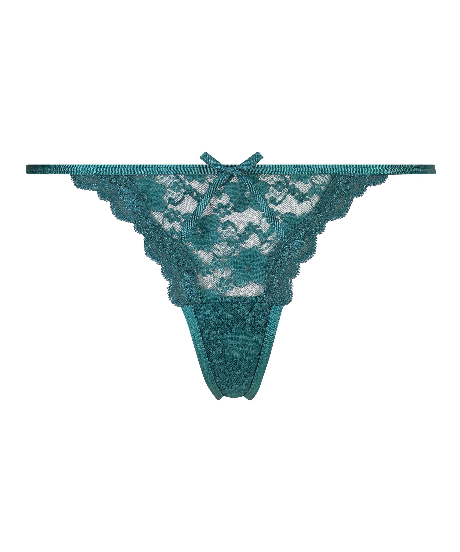 Mini Tanga thong, Blue, main