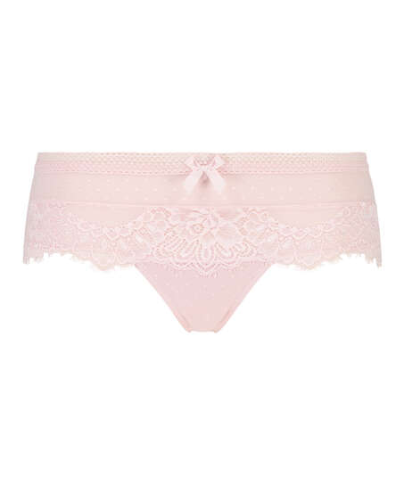 Bessie thong boxers, Pink