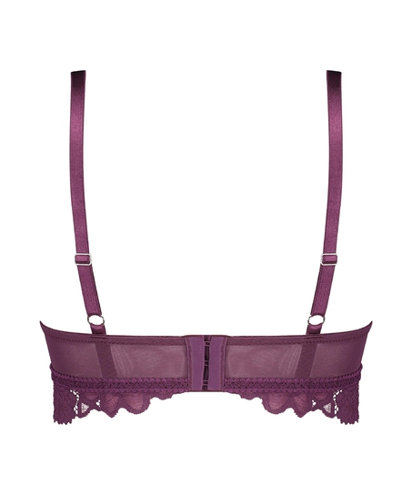 Evey Padded Non-Underwired push-up Bra, Purple
