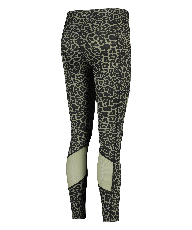 HKMX Oh My Squat High Waisted Leggings, Green, main