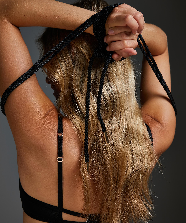 Body Bondage rope, Black, main