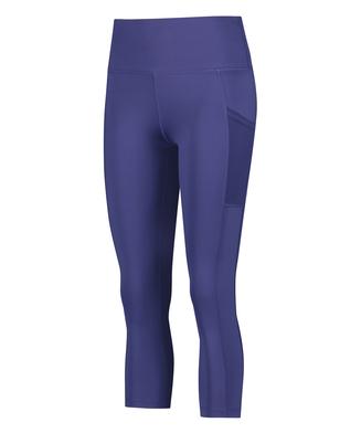 HKMX Oh My Squat High Waisted Capri , Blue