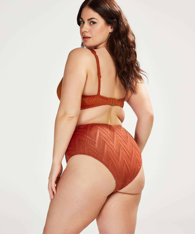 Galibi high bikini bottom I AM Danielle, Orange, main