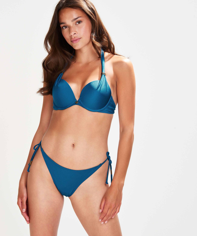 Sunset Dream Thong Bikini Bottoms, Blue, main