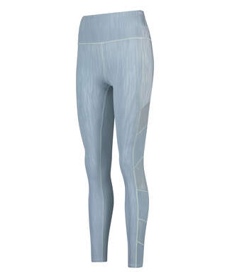 HKMX High waisted sport legging Mojave, Blue
