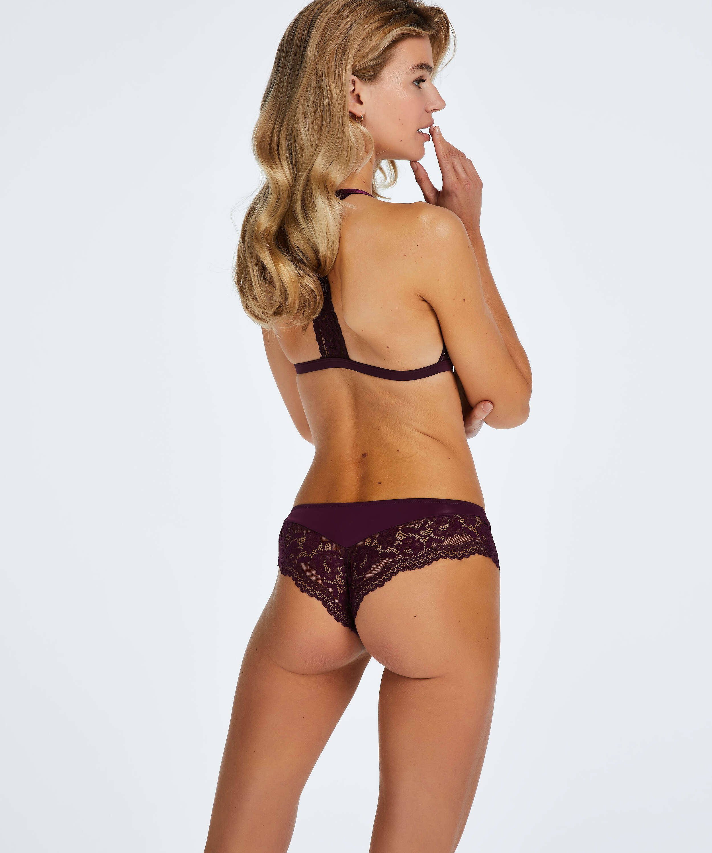 Valencia Brazilian Shorts, Purple, main