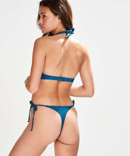 Sunset Dream Thong Bikini Bottoms, Blue