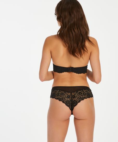Mia Brazilian Shorts, Black