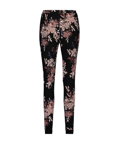 Petite Jersey Pyjama Pants, Black
