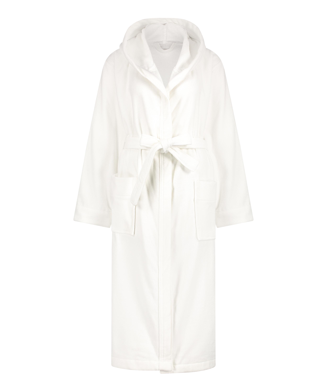 Long bathrobe, White, main