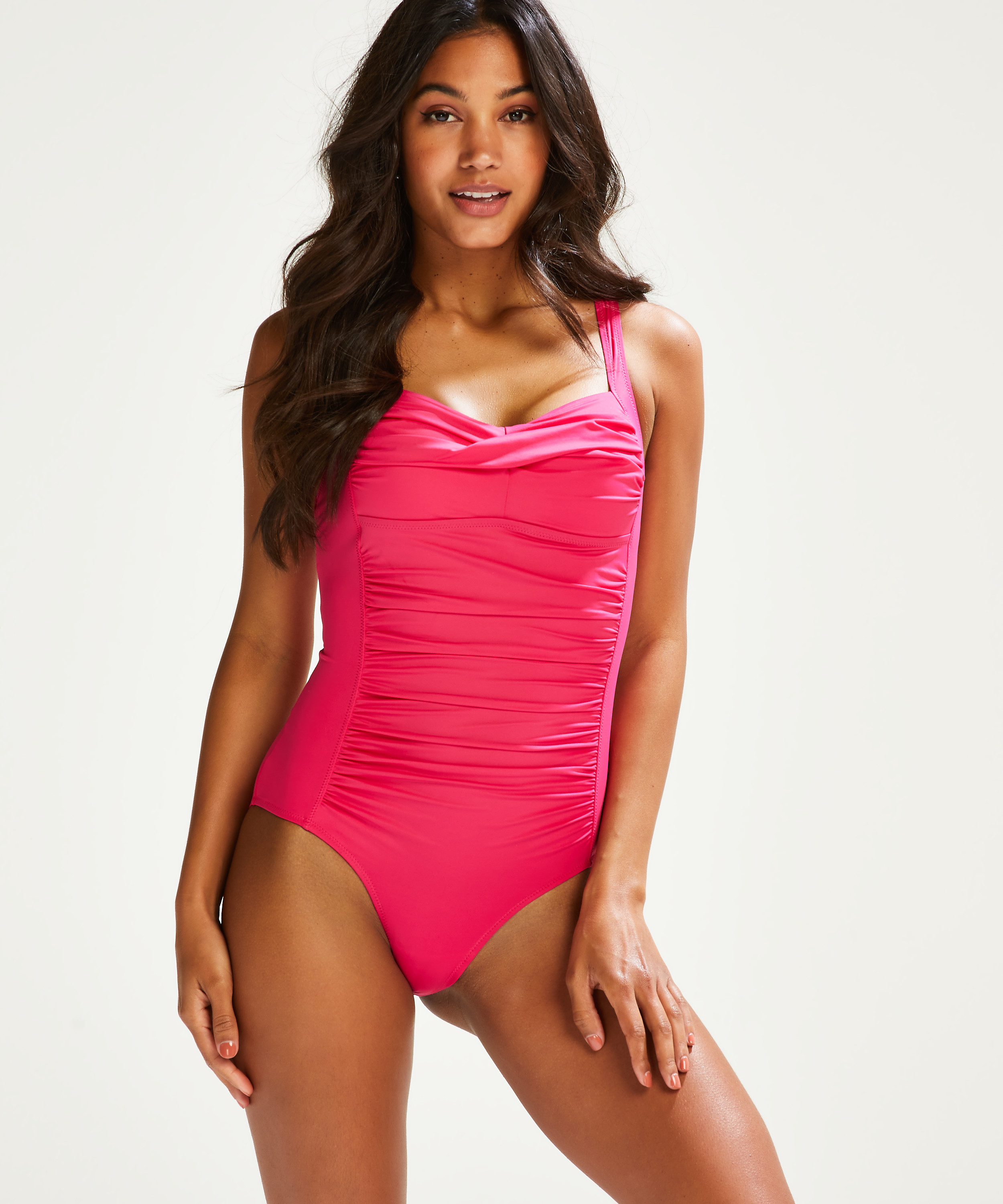 Deluxe swimsuit, Pink, main