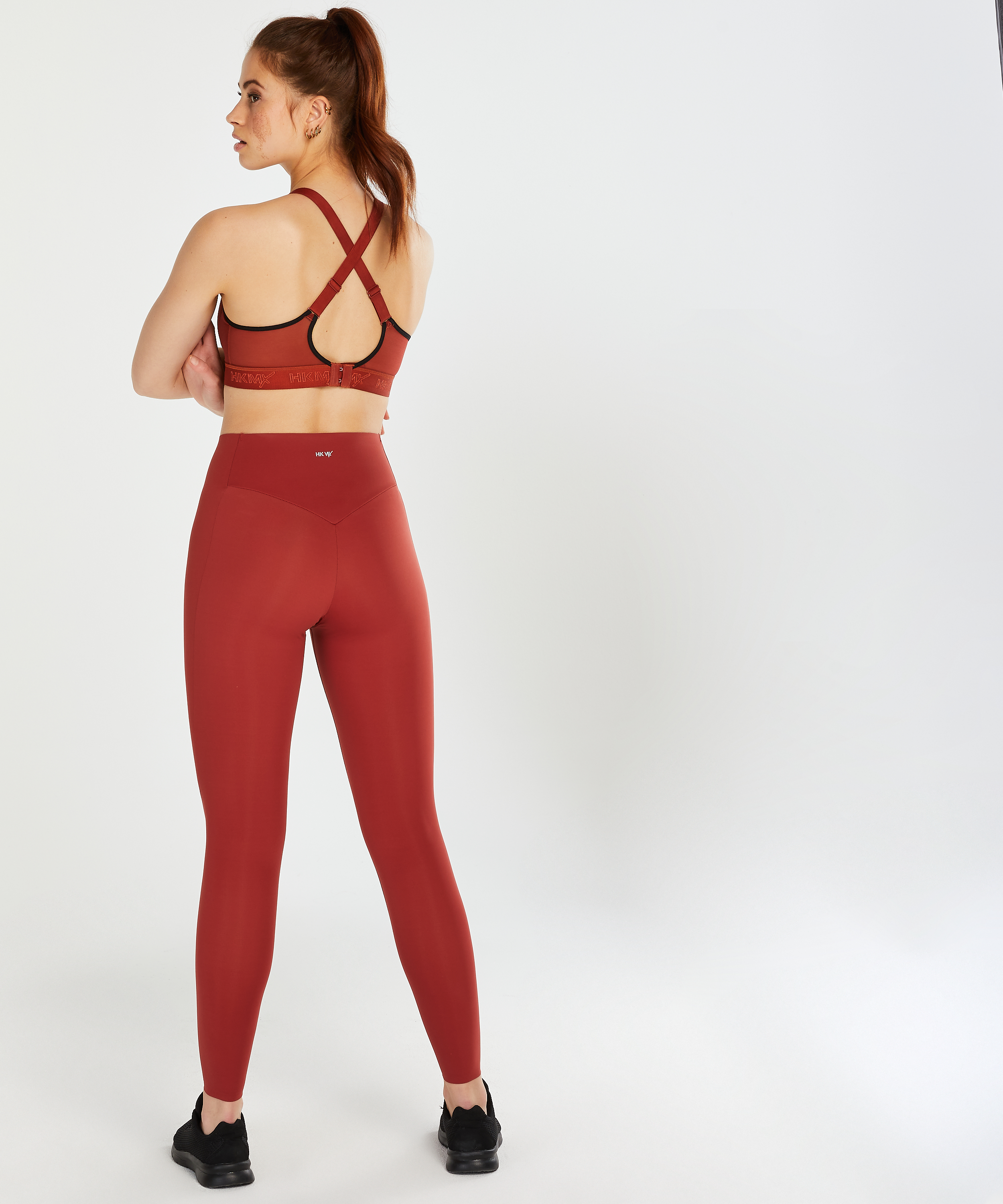 HKMX Sports bra The All Star Level 2, Red, main