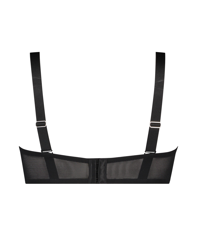Ramona padded strapless underwired bra I AM Danielle, Black, main