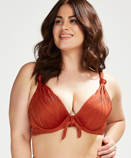Galibi padded underwired bikini top I AM Danielle Cup E +, Orange