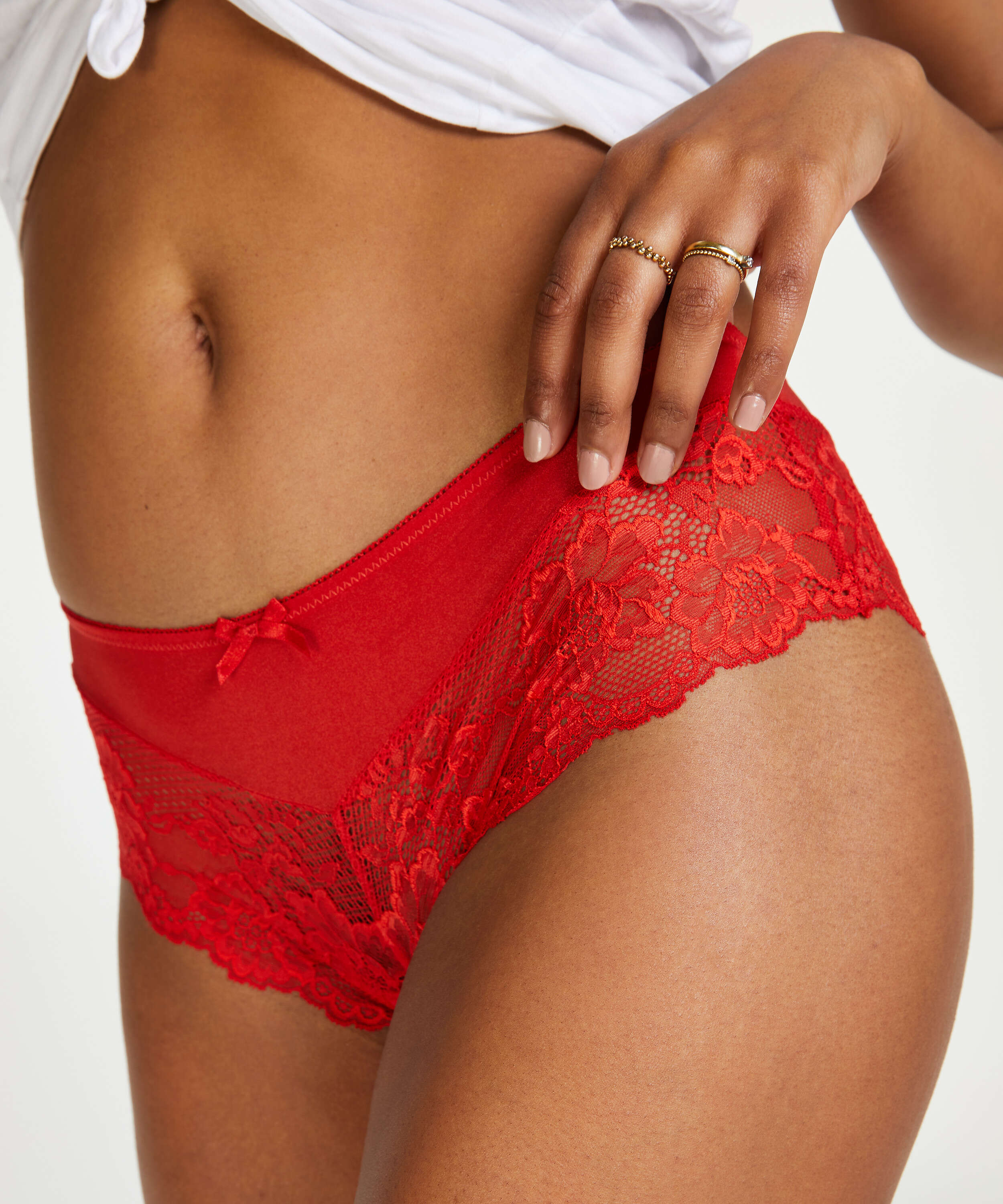 Yasmin Brazilian Shorts, Red, main