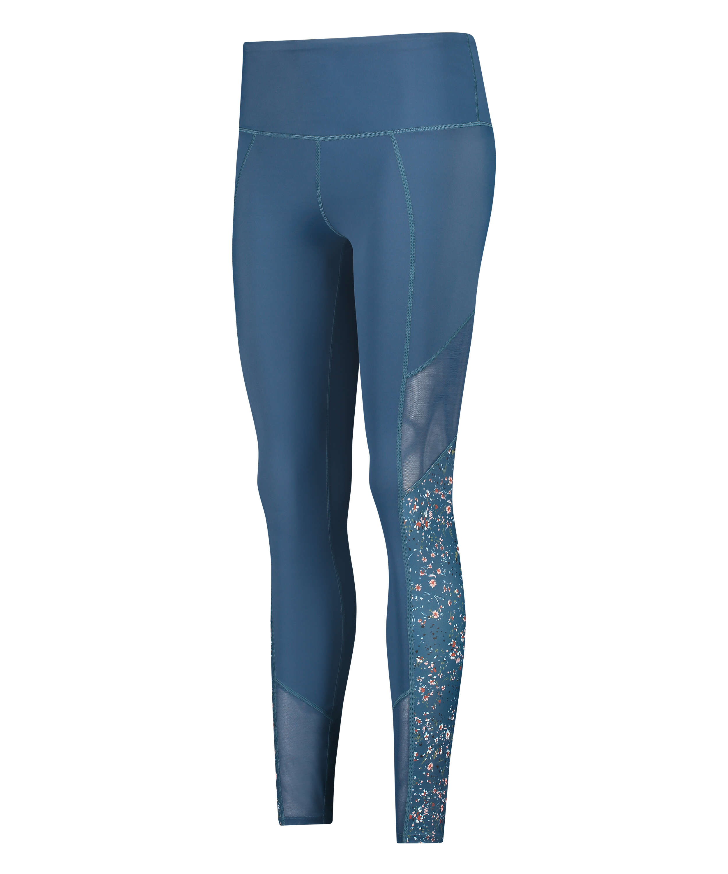 HKMX high waisted sport leggings, Blue, main