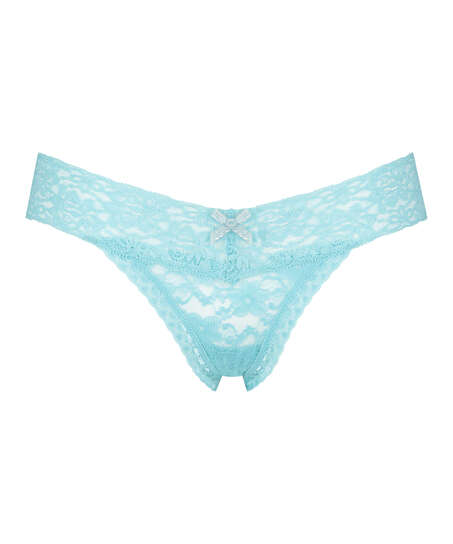 Extra Low V-Thong, Blue