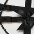 Private suspender cuffs, Black