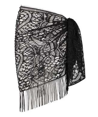 Pareo Crochet, Black