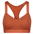 HKMX Sports bra The All Star Level 2, Brown