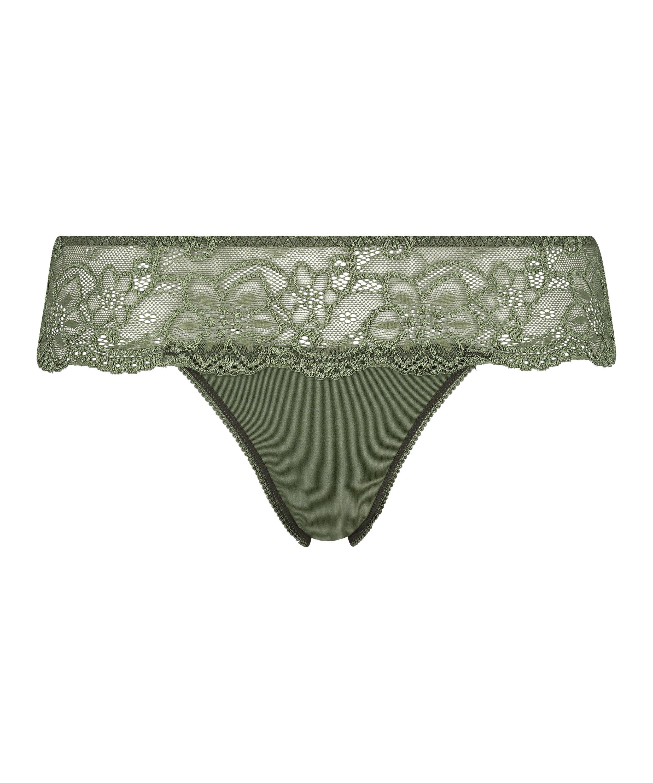 Rosie Thong Shorts, Green, main