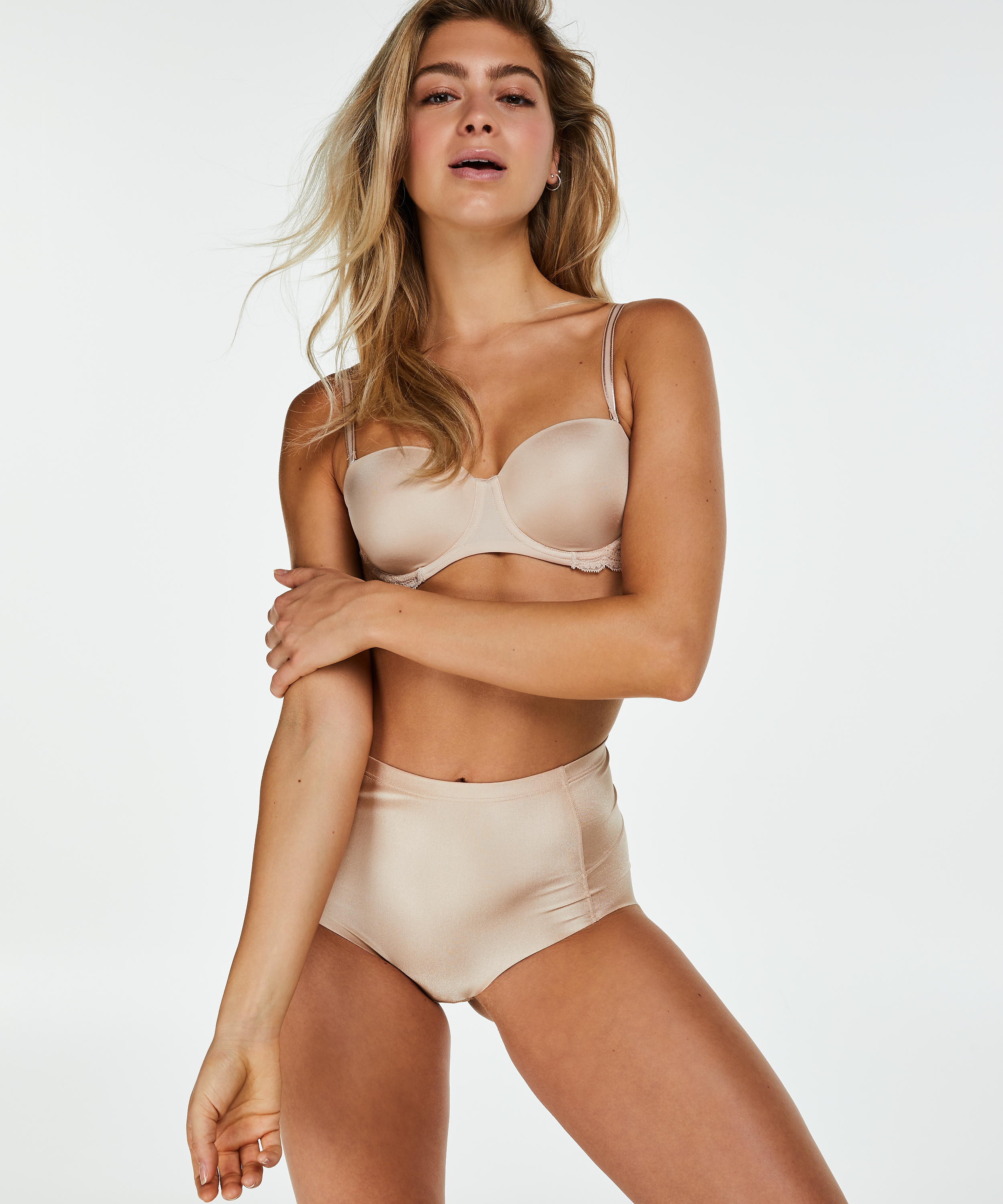 2-Pack Smoothing shaping brief - Level 1, Beige, main