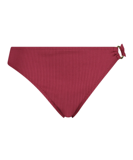 Golden Rings rio bikini bottoms, Red
