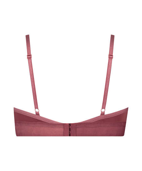 Sophie Padded Non-Underwired Bra, Red