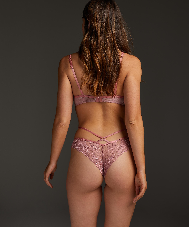Sosha Brazilian with open crotch, Pink, main