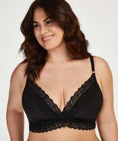 Rabella padded non-underwired bra I AM Danielle, Black