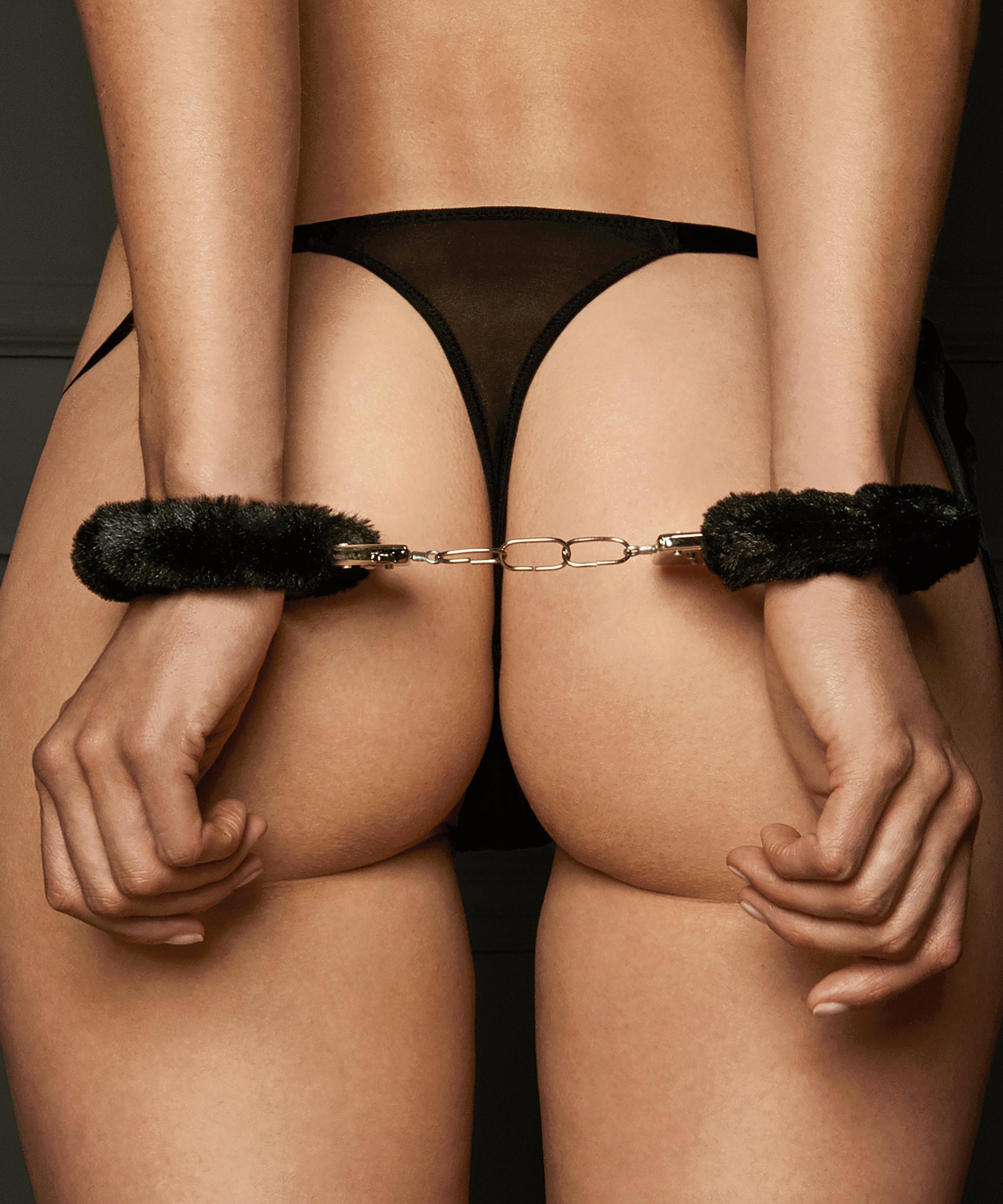 Private Handcuffs, Black, main