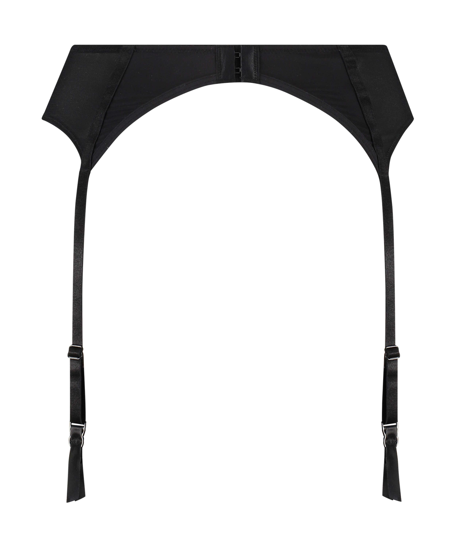 Micro Mesh Suspenders, Black, main