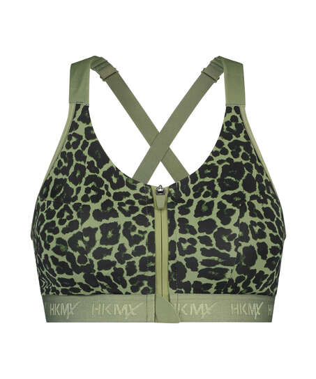 HKMX Sports bra The Pro Level 3, Green